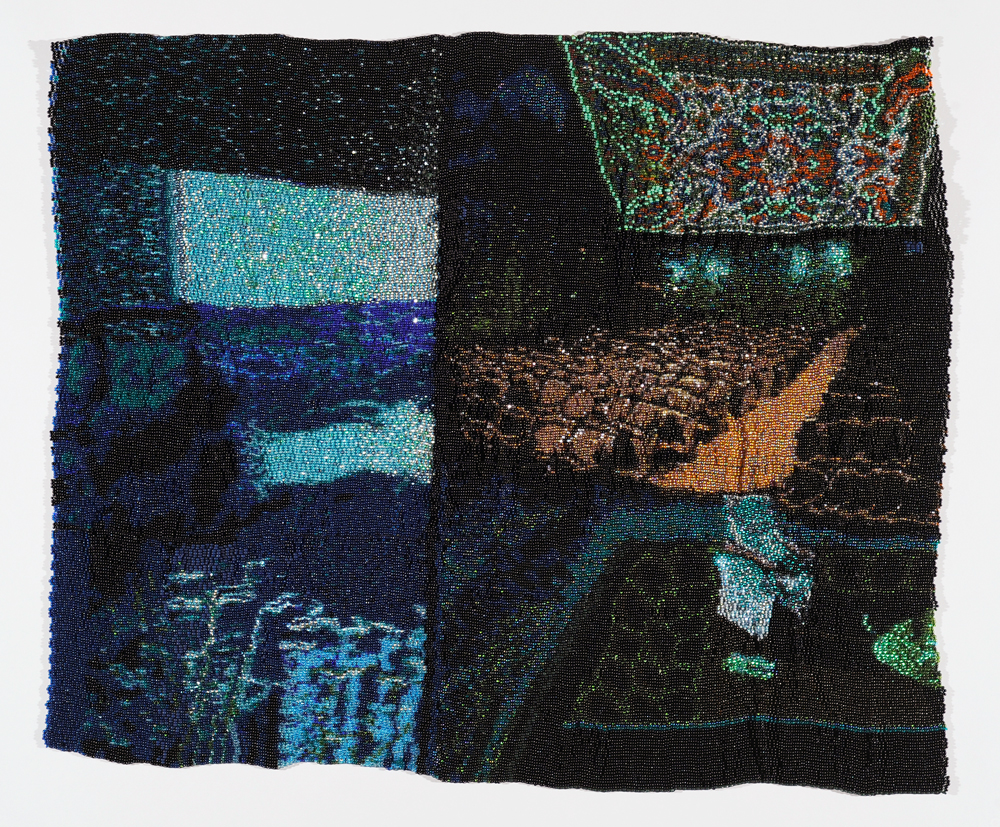 Jessica Kincaid Beaded Tapestry.